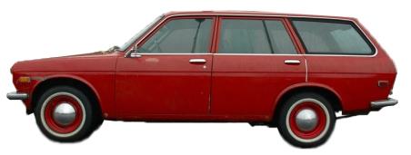 1972 Datsun 510 Station Wagon Nissan Bluebird 1