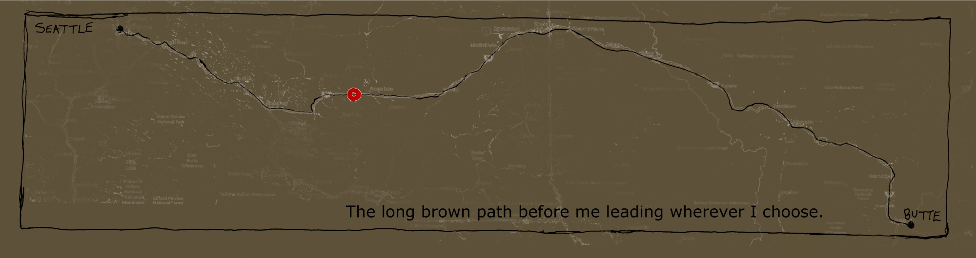 193 map brown double